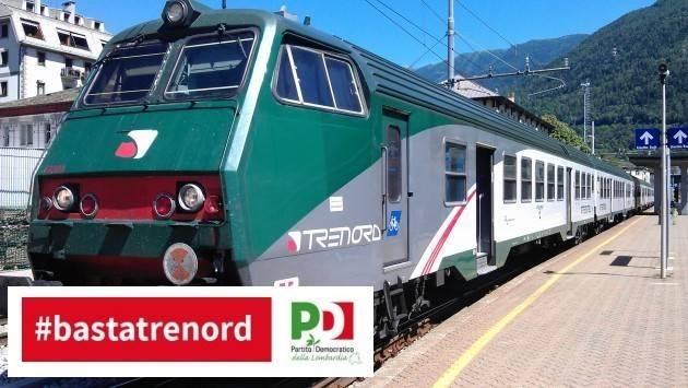 IL PD LOMBARDO RACCOGLIE LE FIRME PER DIRE BASTA A TRENORD