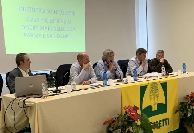 Coldiretti riunisce a Cremona i suinicoltori dei Consorzi di Parma e San Daniele