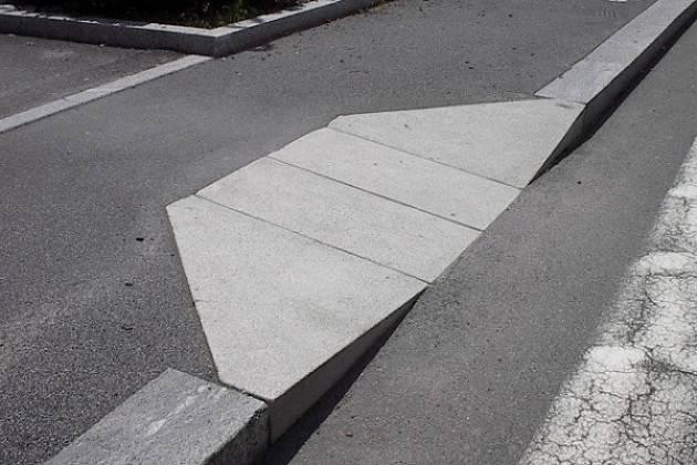 Eliminazione barriere architettoniche a Cremona: nuovi marciapiedi e messa in sicurezza di passaggi pedonali