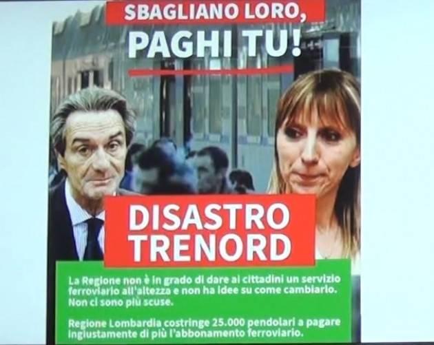 Matteo Piloni (Pd) Basta Trenord! Firma anche tu. La settimana in Cons Reg Lombardia del 25 ottobre 2019 (Video)