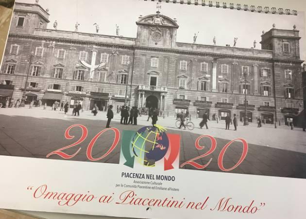Piacenza L'associazione Piacentini nel Mondo presenta il nuovo calendario