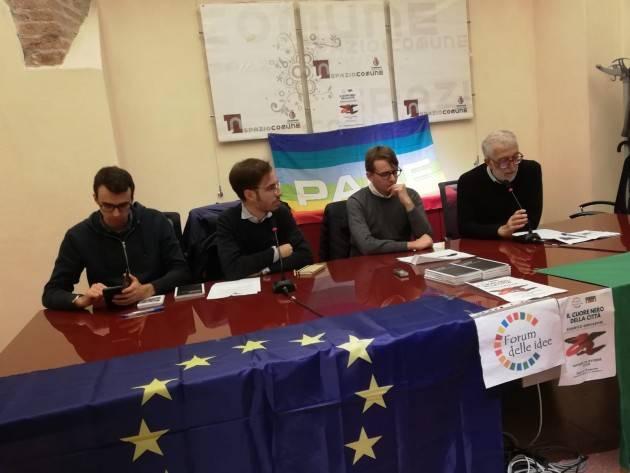 Forum Idee Cremona Interessante incontro  con Federico Gervasoni su 'Il cuore nero della città…'