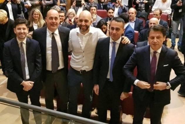 Narni (#Umbria)  L'evento M5s-Pd-Articolo Uno,senza Italia Viva