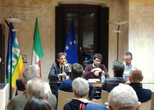 Romanengo Incontro Matteo Piloni (Pd)  e Marco Degli angeli ( M5s), buona la prima