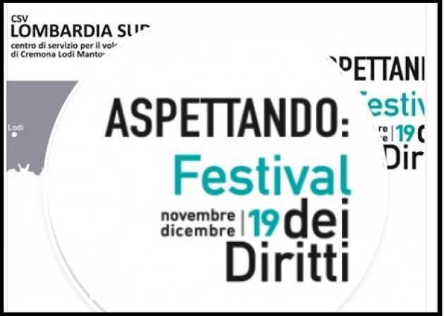 A novembre anche a Cremona torna il Festival dei Diritti 2019