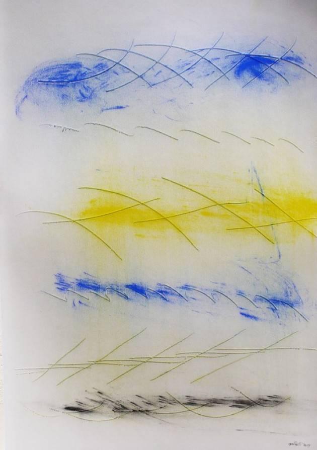 Università Bocconi Milano, l'opera su carta di Paolo Gubinelli  dall' 11 novembre all'8 gennaio 2020