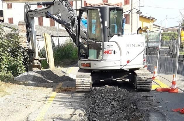 Dovera, Padania Acque S.p.A.: Avanzamento lavori fognari nella frazione di Postino