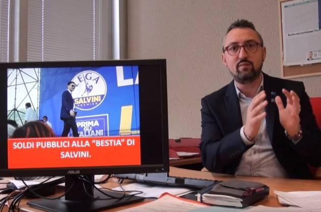 Matteo Piloni ( PD) Soldi pubblici alla pubblici alla 'bestia' di Salvini. Settimana in Consiglio del 31 ottobre 2019