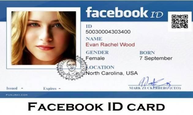 Zeus Documento di identità per aprire un profilo sui social? Una pessima idea
