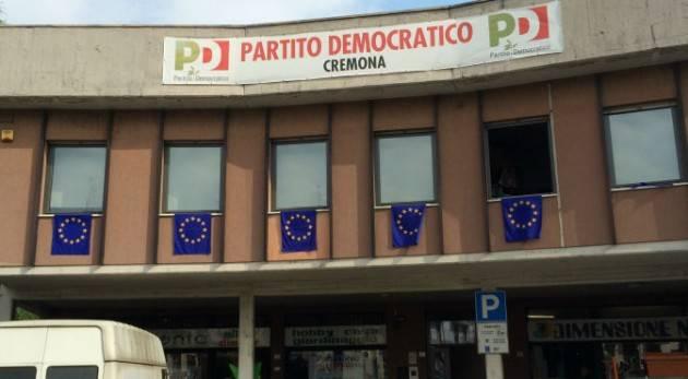 ASSEMBLEA CITTADINA Partito Democratico Cremona con Vinicio Peluffo lunedi 4 novembre