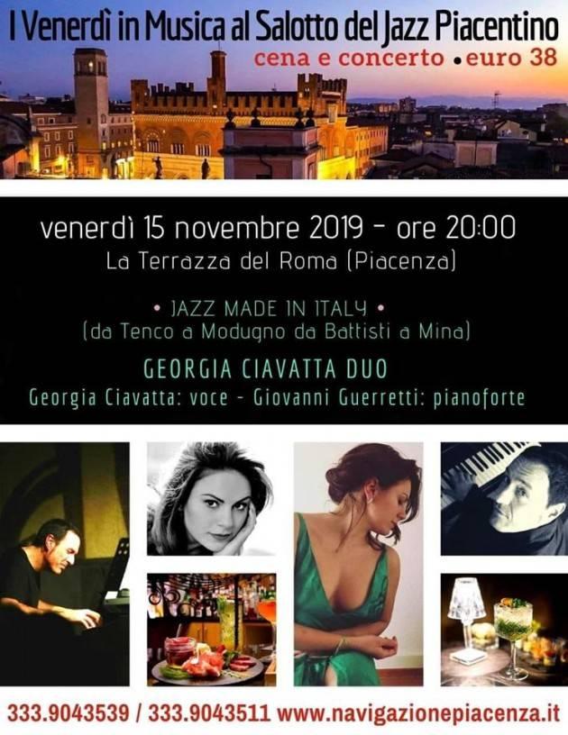 I Venerdì in Musica al Salotto del Jazz Piacentino 15 NOVEMBRE - ORE 20:00 (PIACENZA)
