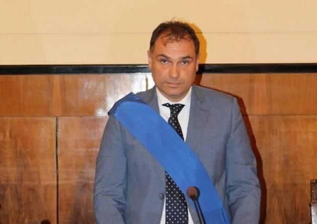 Paolo Mirko Signoroni  (centro sinistra) unico candidato Elezioni Presidente Provincia Cremona  del prossimo 23 novembre.