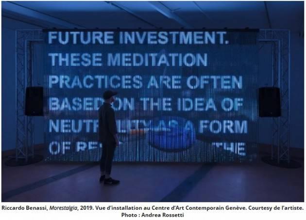 Ginevra Morestalgia  un'opera multimediale del cremonese  Riccardo Benassi fino al 22 dicembre 2019