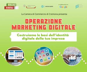 Tecno  Camera Commercio Cremona propone: OPERAZIONE MARKETING DIGITALE