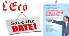 L'ECO - SAVE THE DATE: MARIO COPPETTI