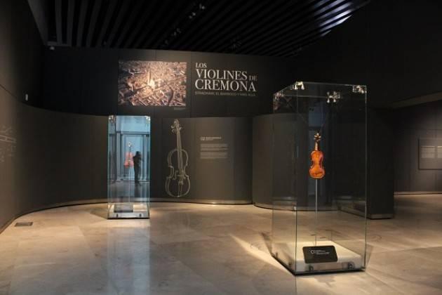 MDV Messico: grande successo della mostra 'Los Violines de Cremona: Stradivari, el Barroco y mas àlla'