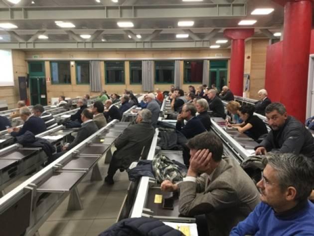 Svoltasi Assemblea dei Sindaci a Cremona presso l'Aula Magna del Politecnico