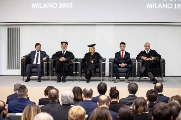 Il Politecnico di Milano: università europea che guarda al futuro Inaugurazione 157° anno Accademico