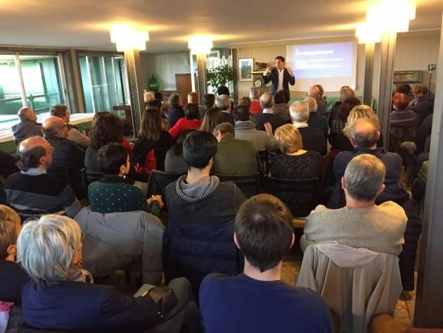Gianluca Galimberti , sindaco di Cremona, ha lanciato il suo progetto 'Cremona si può LAB'