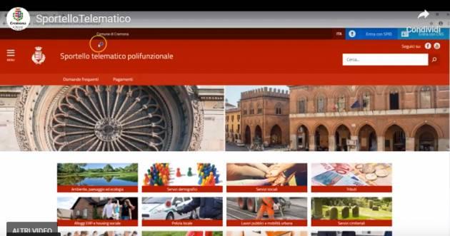 Sportello Telematico del Comune di Cremona: mercoledì 27 un incontro per capire come utilizzarlo al meglio