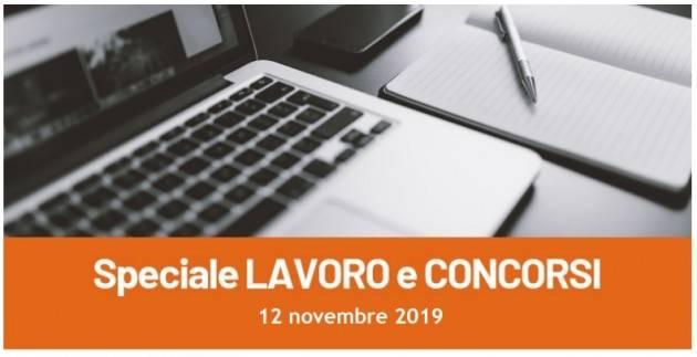 Informa Giovani Cremona SPECIALE LAVORO E CONCORSI del 12 novembre 2019