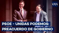 Una bella notizia Sanchez (Psoe)  e Iglesias (Podemos) firmano accordo per governo progressista | G.C.Storti