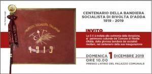 L'ECO MEMO - Centenario della Bandiera Socialista di Rivolta d'Adda