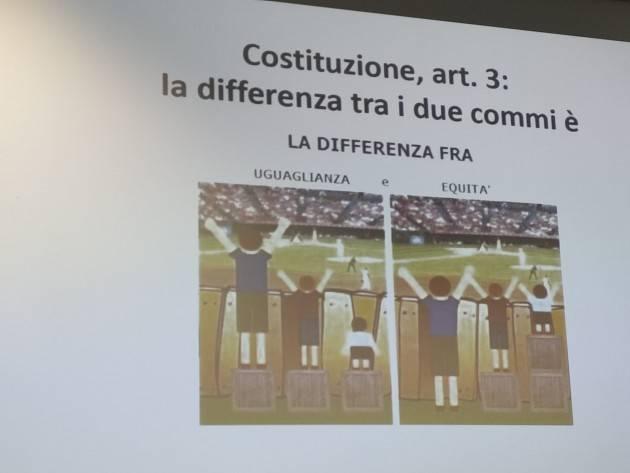 Cremona Ass.25 Aprile Avviato il 14 nov con Chiara Bergonzini il 6° Ciclo Conoscere la Costituzione (Video G.C.Storti)