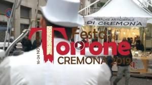 Cremona La #FestaDelTorrone2019 è partita. La città sarà coinvolta fino al 24 novembre