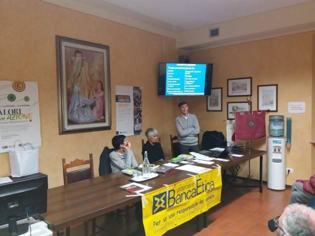 Soncino ha ospitato l'assemblea dei soci  di Banca Etica Cremona