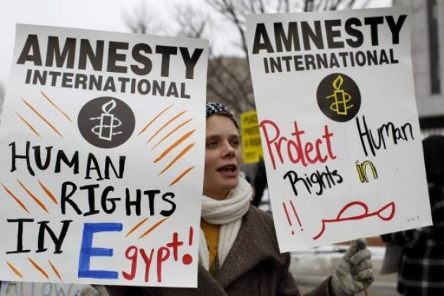 EGITTO, ESAME PERIODICO UNIVERSALE ONU: AMNESTY VA DENUNCIATA SITUAZIONE DEI DIRITTI UMANI