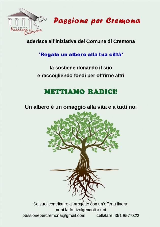 Ogni 21 novembre si svolge la 'Giornata nazionale degli alberi'  Passione per Cremona