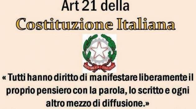 Conoscere la Costituzione. Iniziativa con Roberto Zaccaria 20 novembre a Cremona