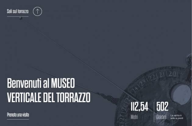 Museo Verticale del Torrazzo, online il nuovo sito internet