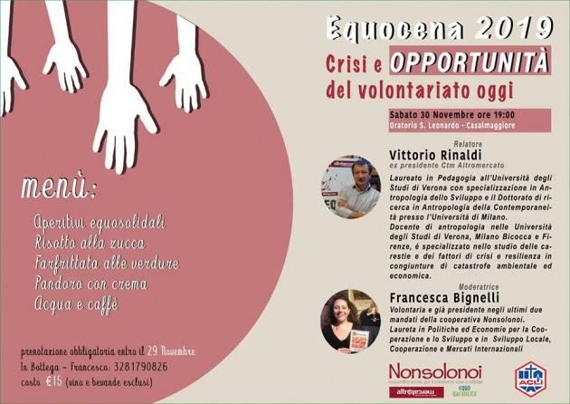 Il 30 novembre torna l'Equocena a Casalmaggiore con l'edizione 2019