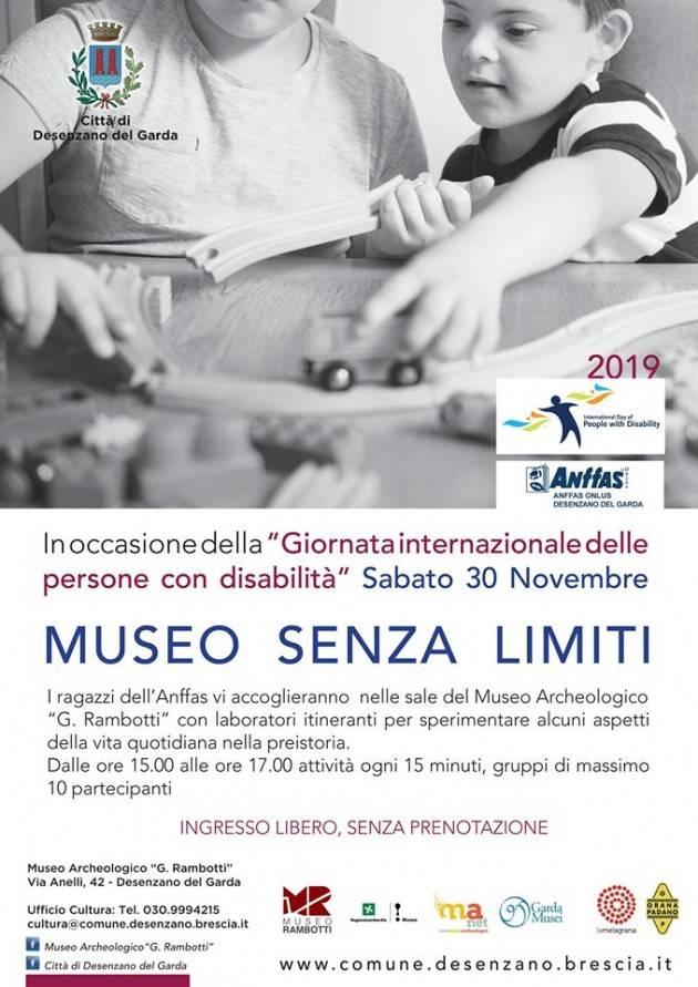 Museo Archeologico Rambotti di Desenzano senza barriere il 30 novembre