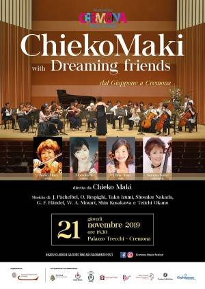 ChiekoMaki with Dreaming friends dal Giappone a Cremona