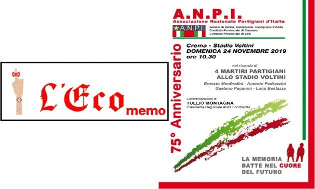 L'ECO MEMO - 75° ANNIVERSARIO ANPI