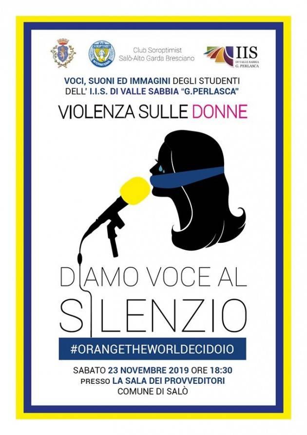 D'amore non si muore: tre iniziative a Salò sulla violenza contro le donne