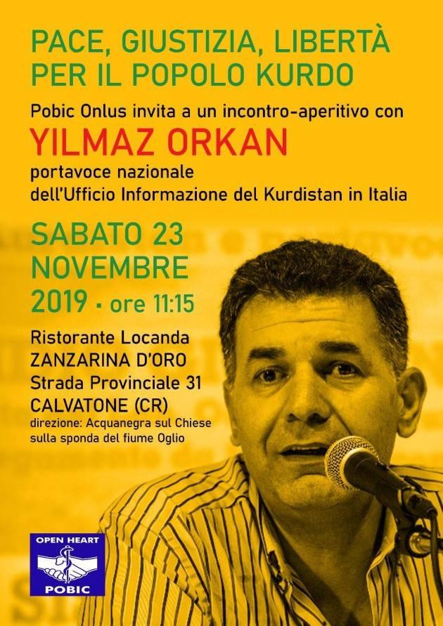 Acli. Solidarietà al popolo Curdo