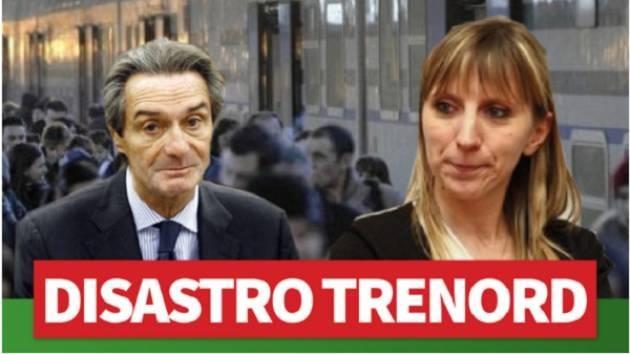TRENORD: BUSSOLATI E PILONI (PD), 'L'ASSESSORE TERZI NON PRENDA PER STUPIDI I PENDOLARI'
