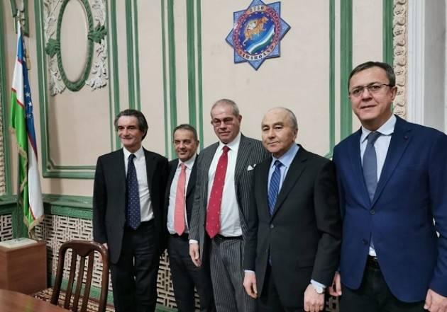 LNews-MISSIONE UZBEKISTAN, SIGLATO ACCORDO DI COLLABORAZIONE TRA UNIVERSITA' DELL'INSUBRIA E STATALE DI SAMARCANDA