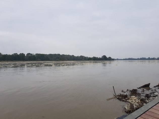 Cremona Innalzamento livello del Po, dichiarato lo stato di pre-allarme