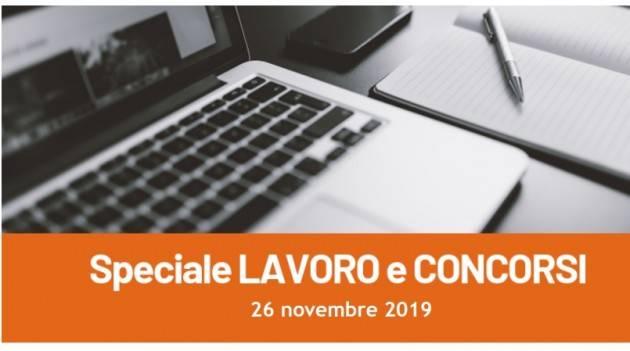 Informa Giovani Cremona SPECIALE LAVORO E CONCORSI del 26 novembre 2019