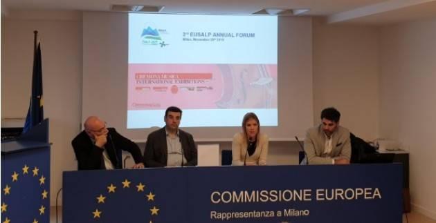 IL SISTEMA DELLA LIUTERIA CREMONESE ALL'EUSALP ANNUAL FORUM
