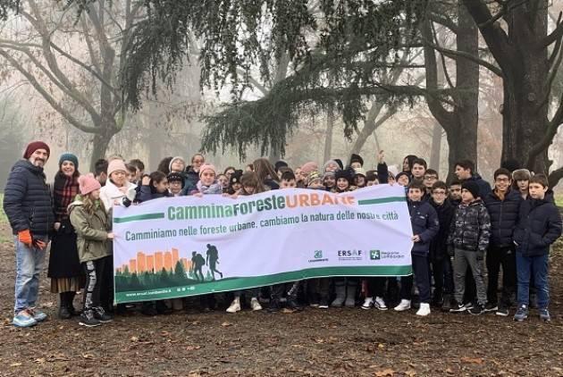 Anche a Cremona l'iniziativa CamminaForeste Urbane