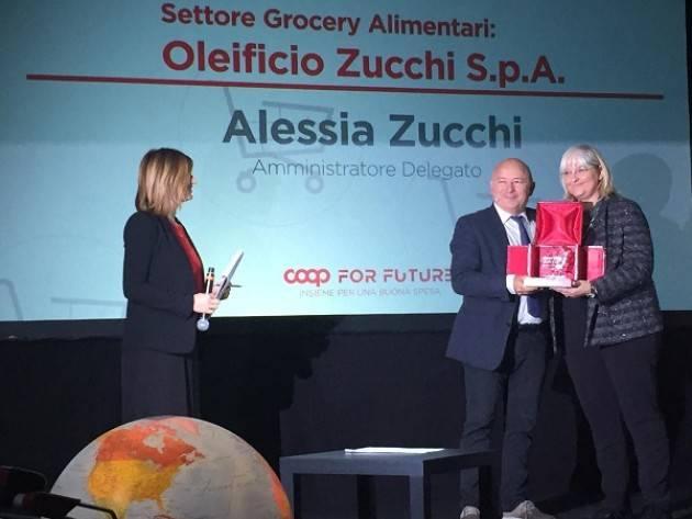 Cremona LA SOSTENIBILITÀ DI OLEIFICIO ZUCCHI VINCE IL PREMIO COOP FOR FUTURE – INSIEME PER UNA BUONA SPESA