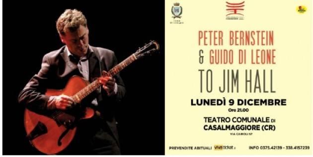 TO JIM HALL Teatro Comunale di Casalmaggiore Lunedì 9 dicembre 2019 ore 21