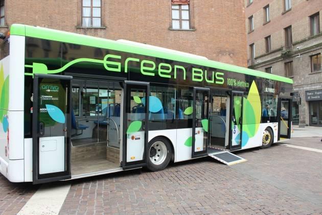 Cremona Avviata la sperimentazione dei due nuovi bus elettrici