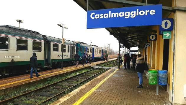 PILONI (PD): #BASTATRENORD, IL 4 DICEMBRE RACCOLTA FIRME TRA I PENDOLARI DI CASALMAGGIORE